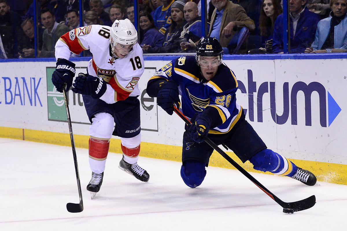 NHL: Florida Panthers at St. Louis Blues