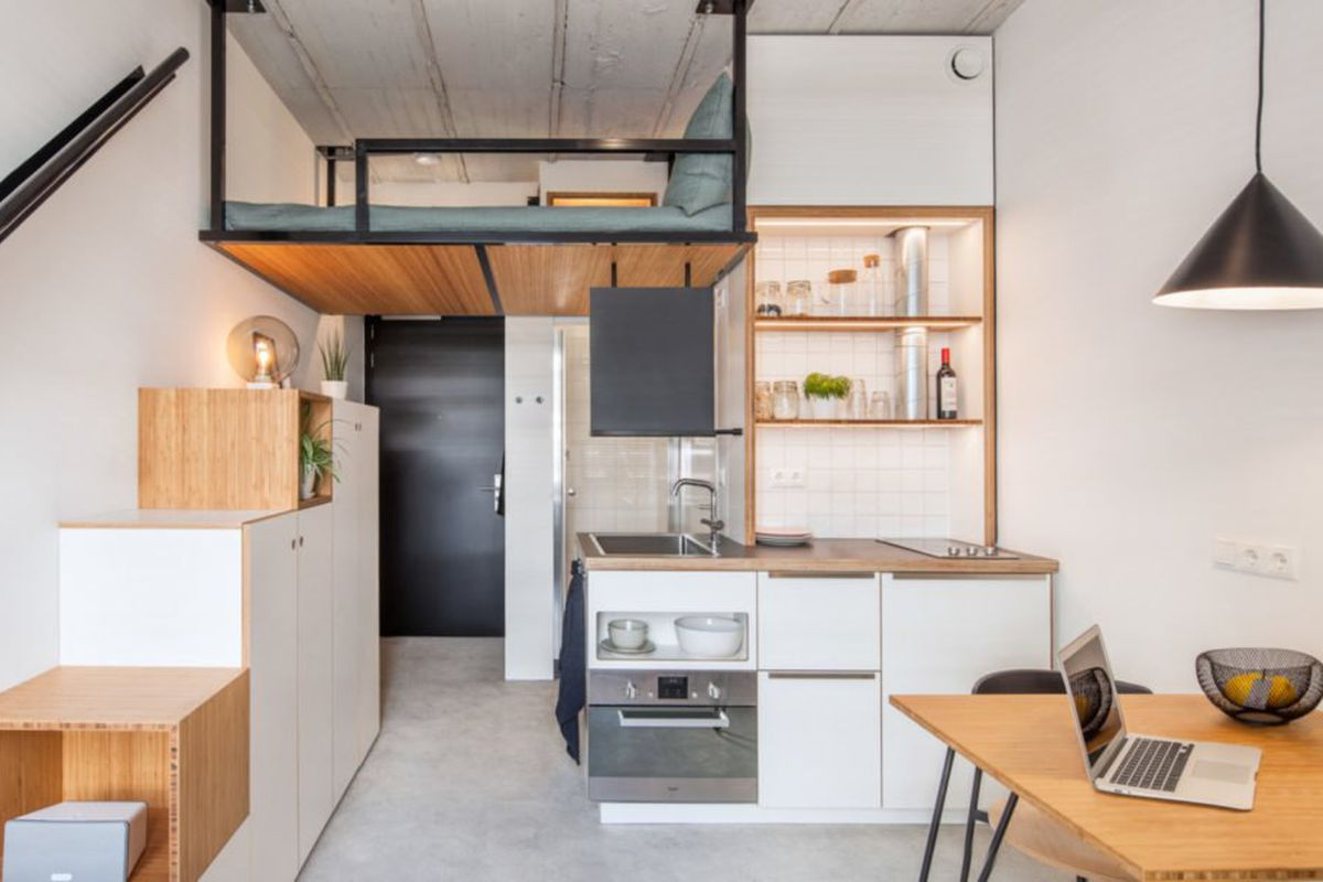 Tiny House Inspired Student Housing Is Small Living At Its