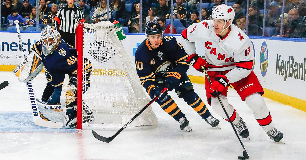 Sabres could fill the Hurricanes need for a defenseman