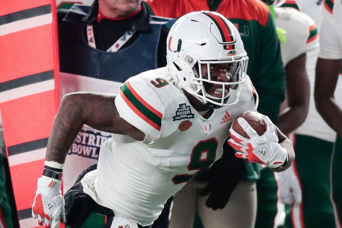 NCAA Football: Pinstripe Bowl-Wisconsin vs Miami