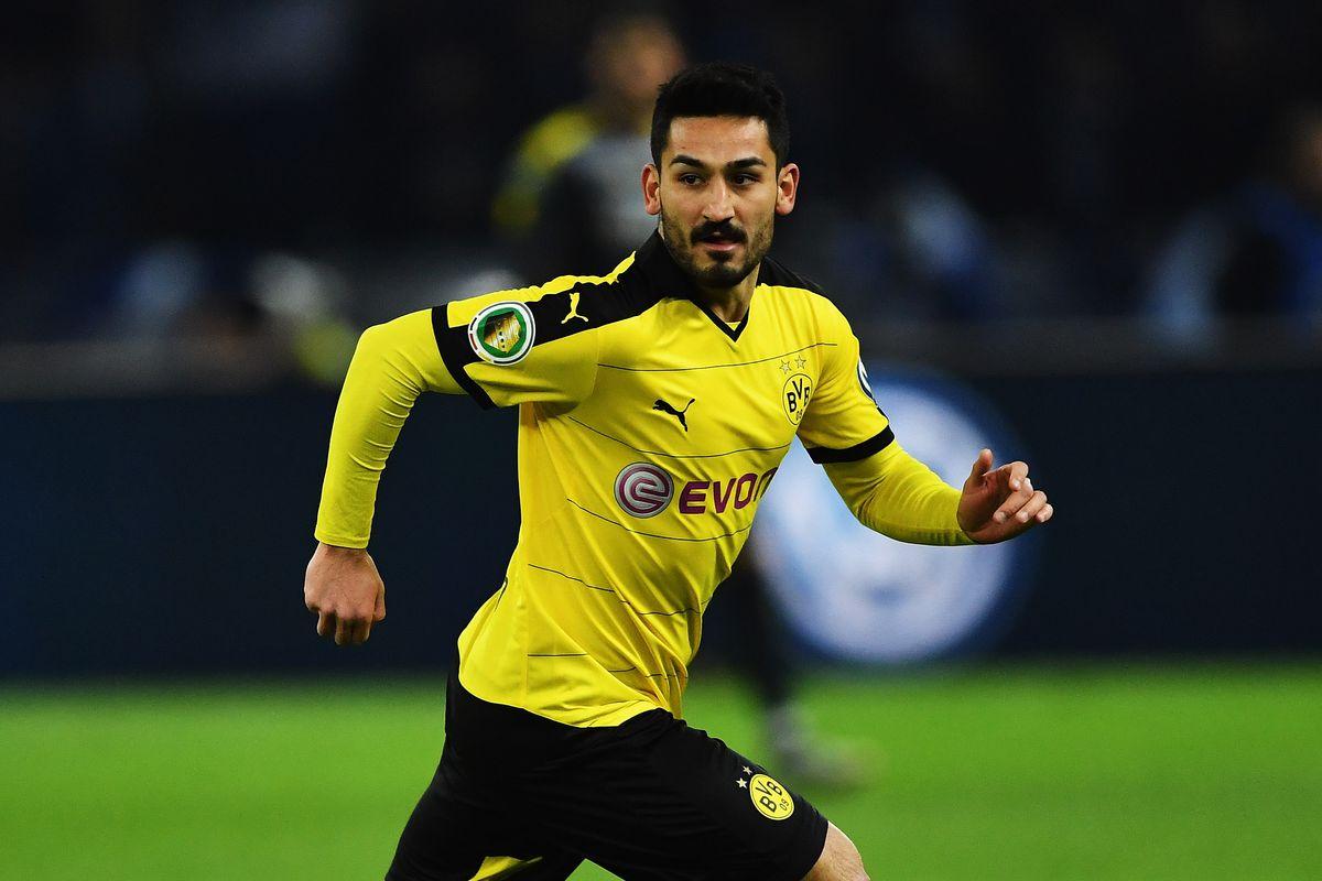 Ilkay Gundogan is on his way out of Dortmund.