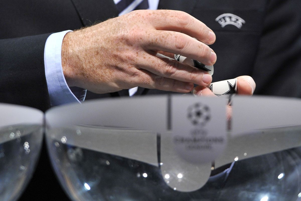 Pots and seedings confirmed for Champions League group stage draw