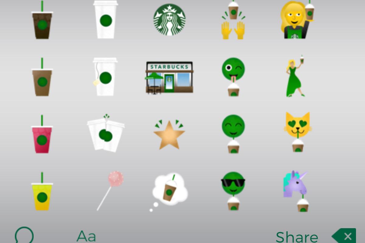 Starbucks Emoji Are Here Eater
