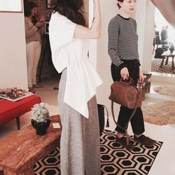 "<a href=""http://instagram.com/ninobrand?"">@ninobrand</a>: Tag along with Philly designer Bela Shehu of Nino Brand as she shares inspirational quotes and pics of new designs, then poses for photoshoots with <em>Glamour</em> magazine. NBD."