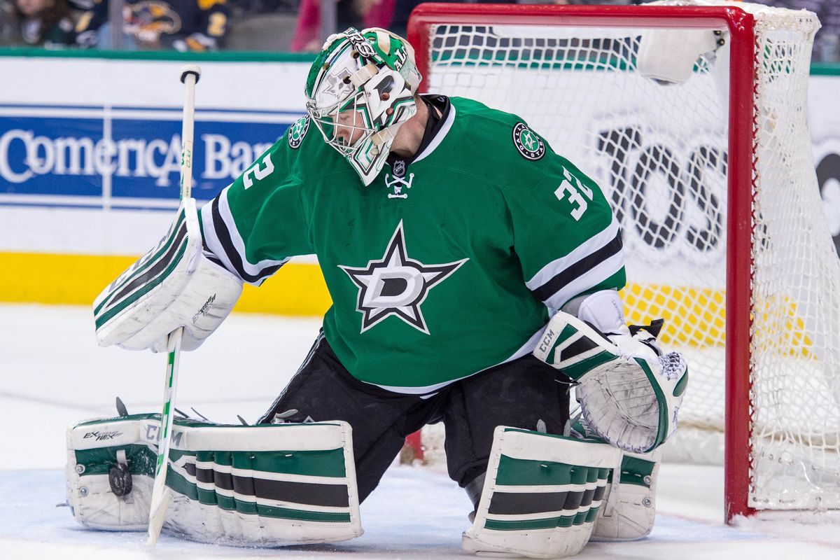 Kari Lehtonen and Ben Bishop duel in Dallas for Game 3 of the fake Stanley Cup