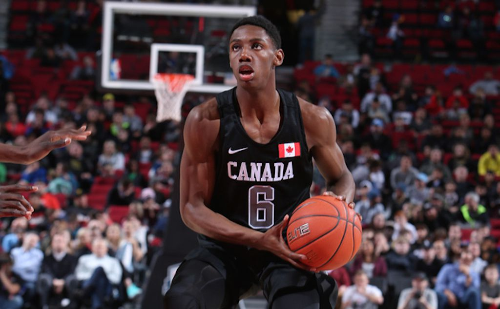 R J Barrett Is The High School Star Who Carries Canadian