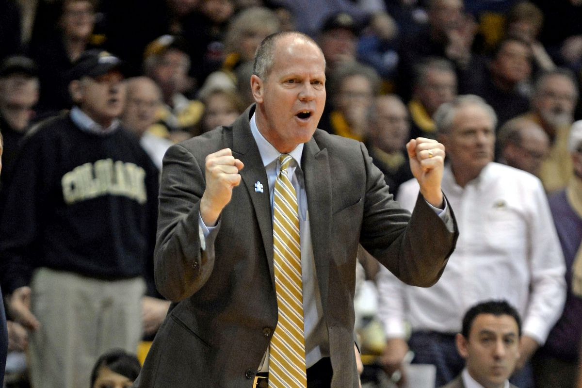 Tad Boyle was ecstatic after the 79-75 victory against Utah at the Coors Event Center.