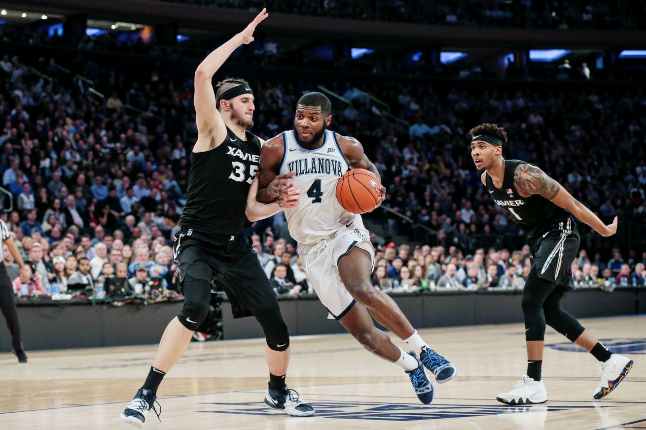 Villanova advanced to yet another Big East title game by defeating Xavier in OT in the first semifinal of the night at Madison Square Garden.