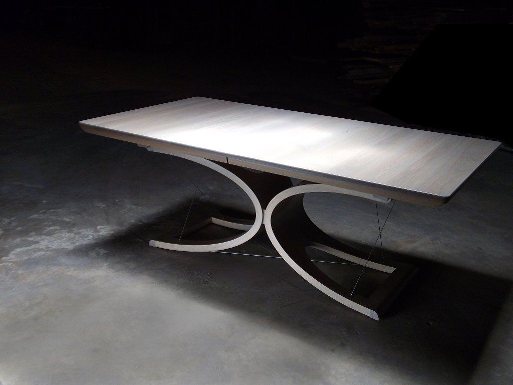 Dining table by Mark Macek Furniture