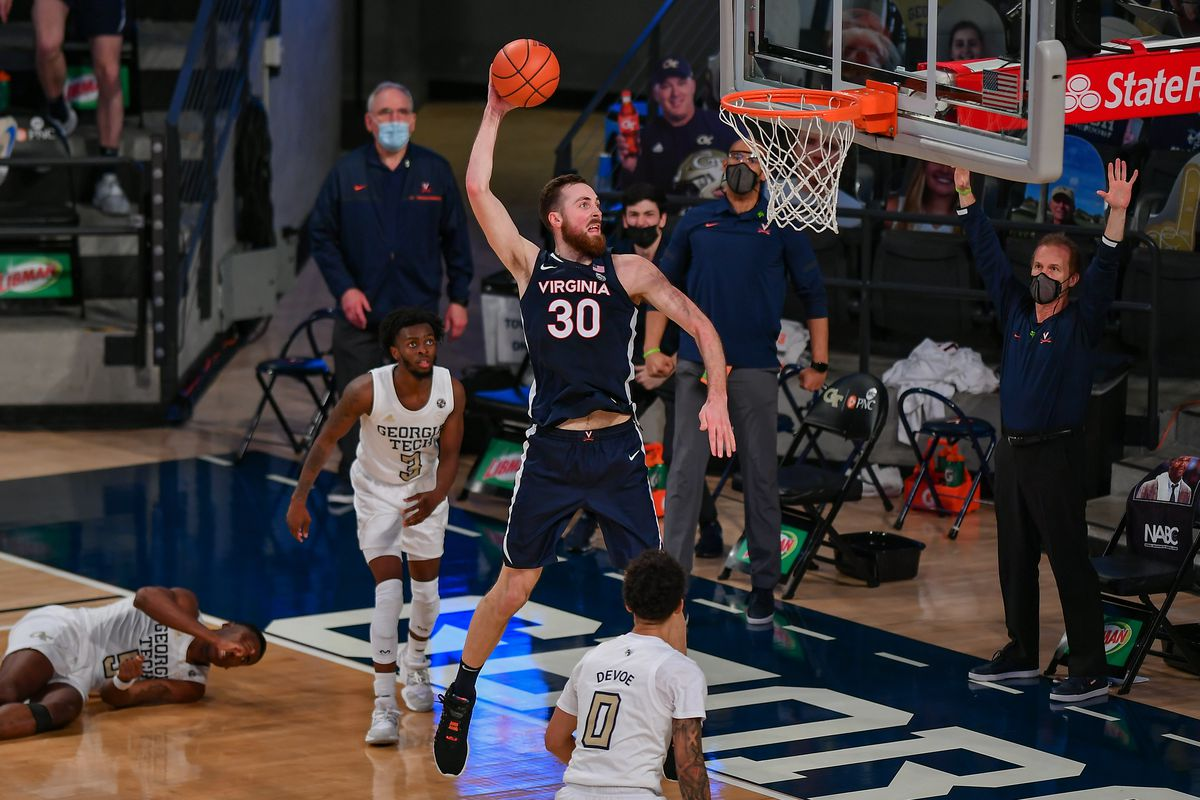 COLLEGE BASKETBALL: FEB 10 Virginia at Georgia Tech
