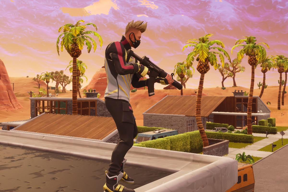 epic games - fortnite desert eagle nerf gun