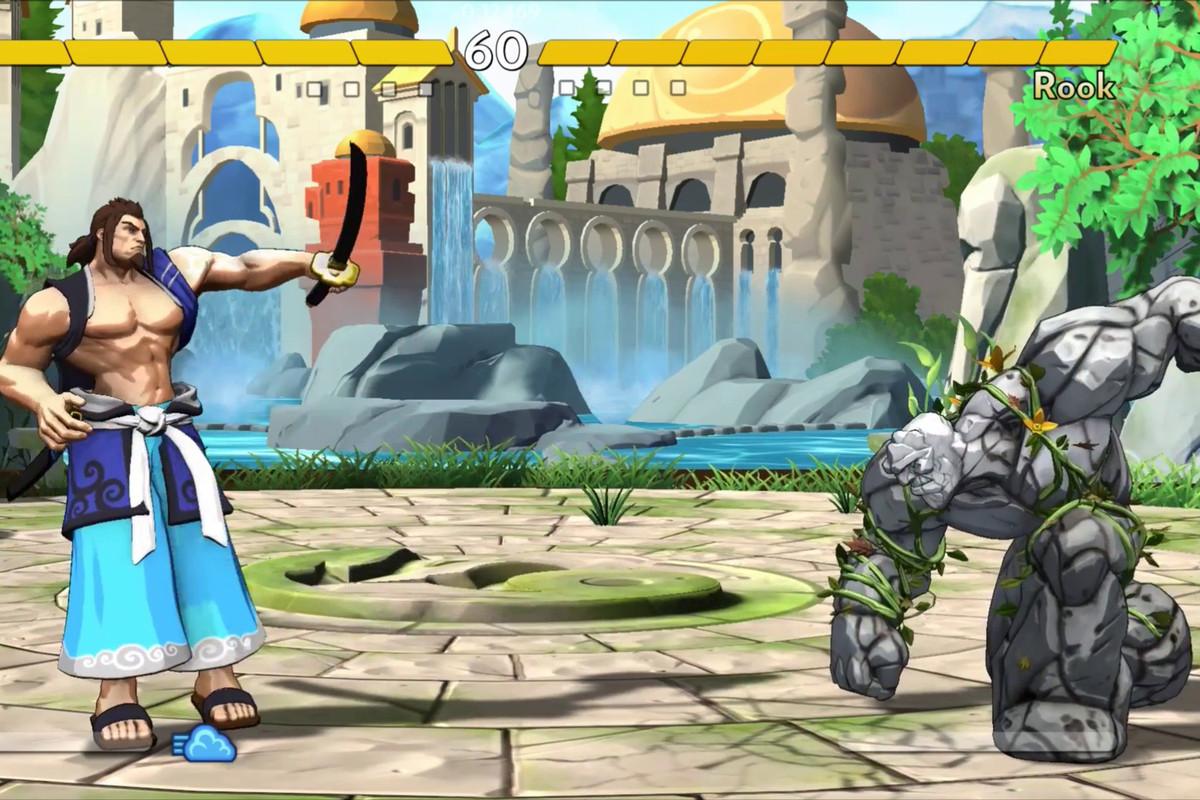 Fantasy Strike - Grave vs. Rook