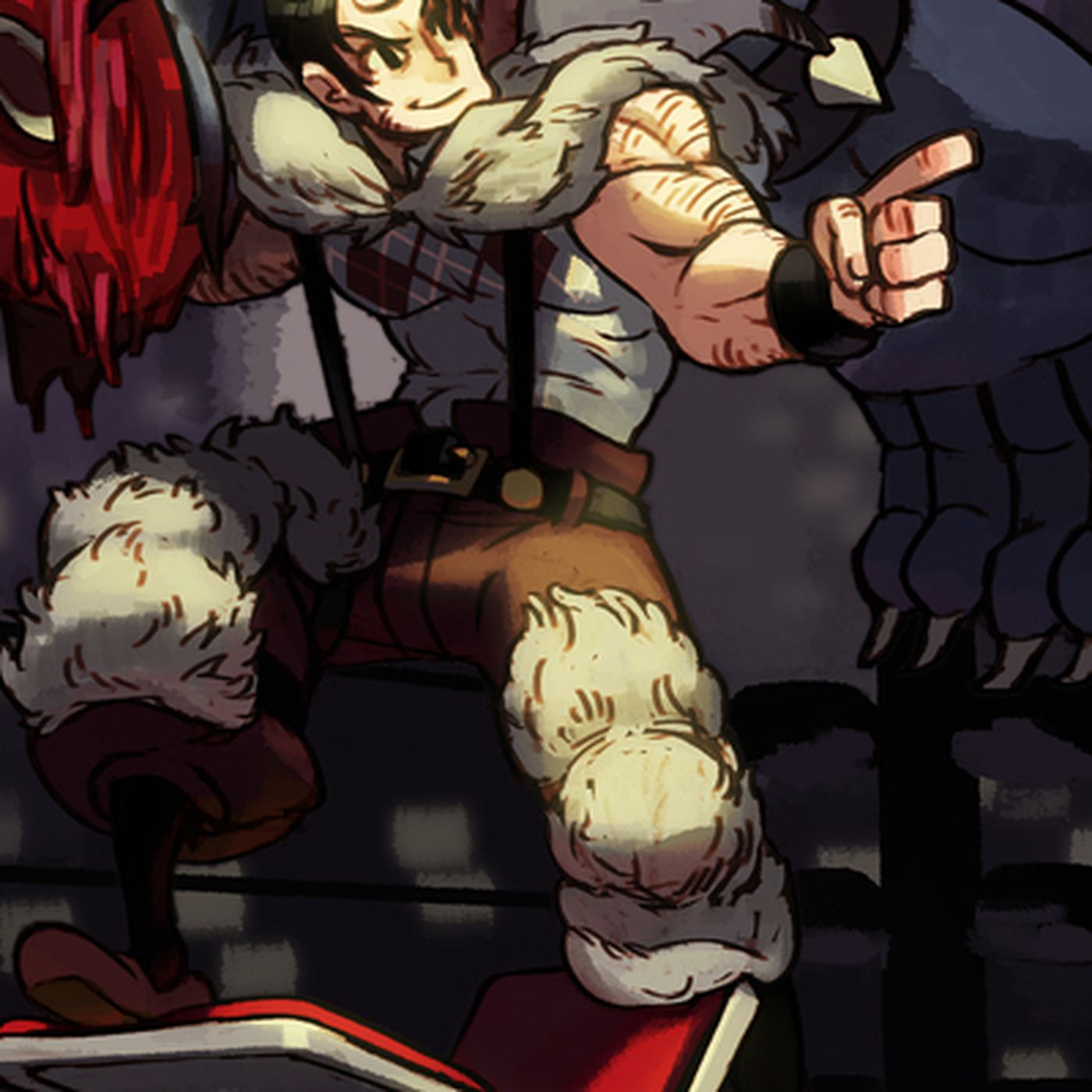 Skullgirls Final Dlc Character Is Macho Man Randy Savage Inspired