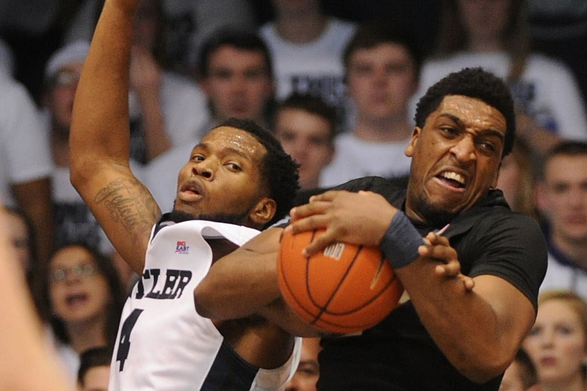 You don't mess with James Farr in the lane.
