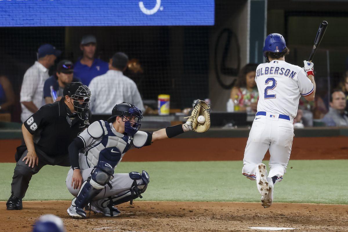 MLB: MAY 17 Yankees at Rangers