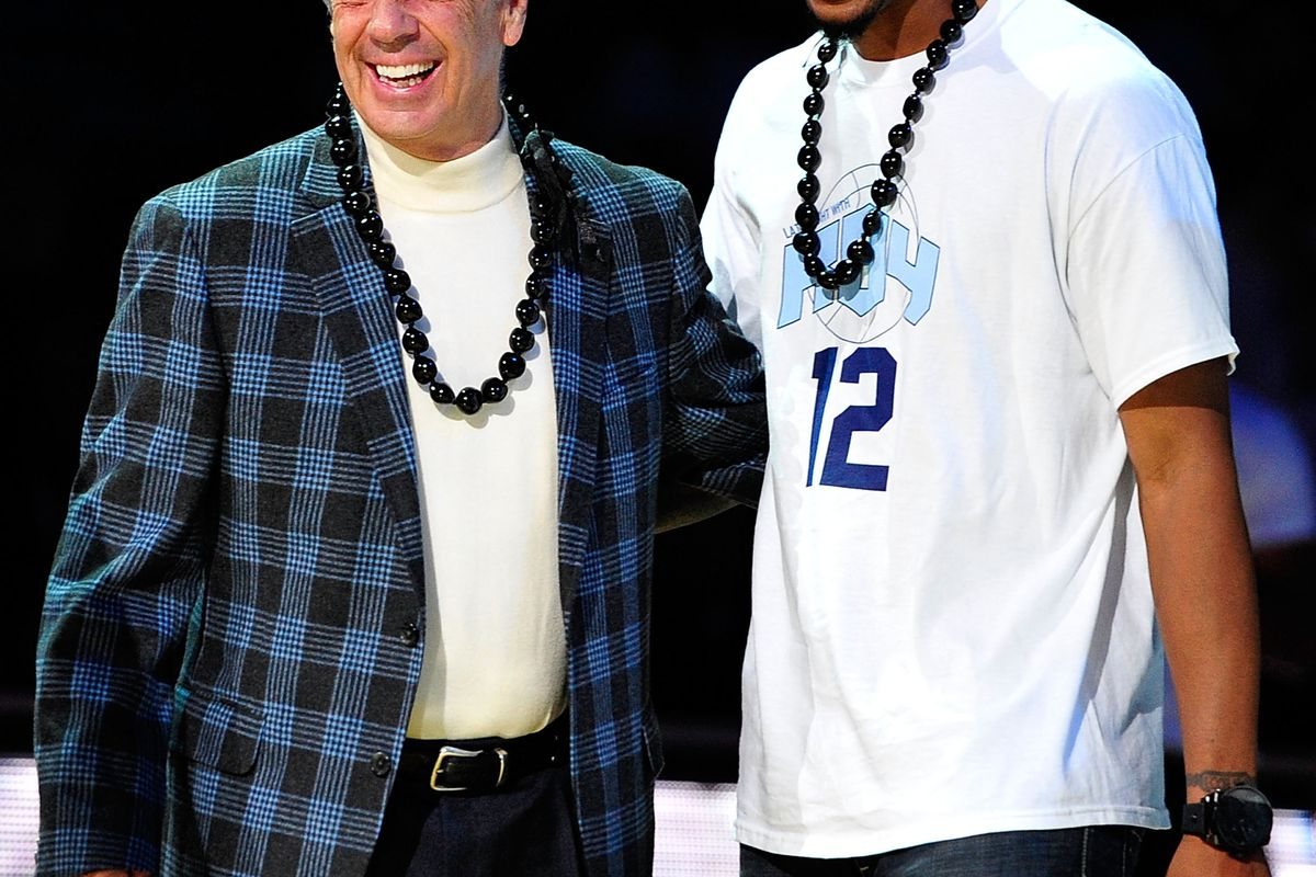 Roy Williams and Leslie McDonald