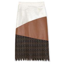 "<b>Patrícia Viera</b> Printed and Laser Punched Knee Length Skirt, <a href=""http://modaoperandi.com/patricia-viera/resort-2013/jewelry-1021/item/printed-and-laser-punched-knee-length-skirt-136526/?utm_medium=Linkshare&utm_source=Linkshare&utm_content=J84D"
