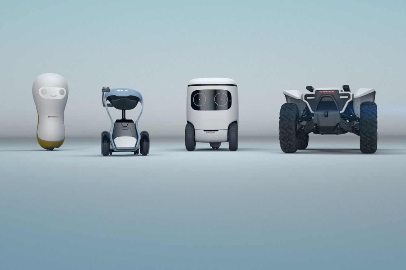 honda s cute new robot concepts only want to help