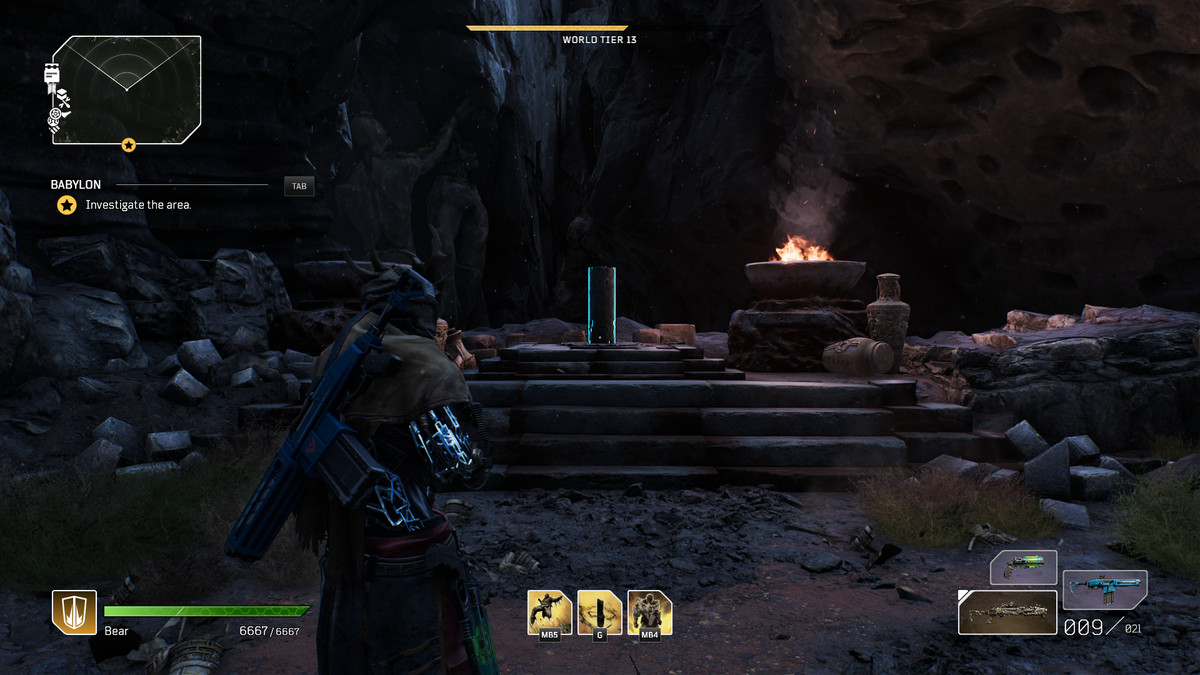 First small pillar in Outriders