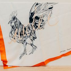 Peregrine Honig Silk Scarf, $200