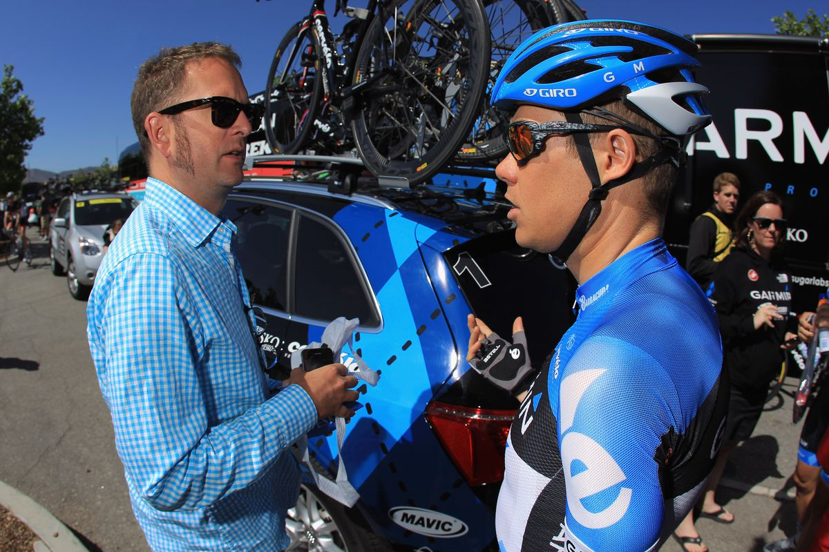 Tour of California, 2012, Jonathan Vaughters, Tom Danielson