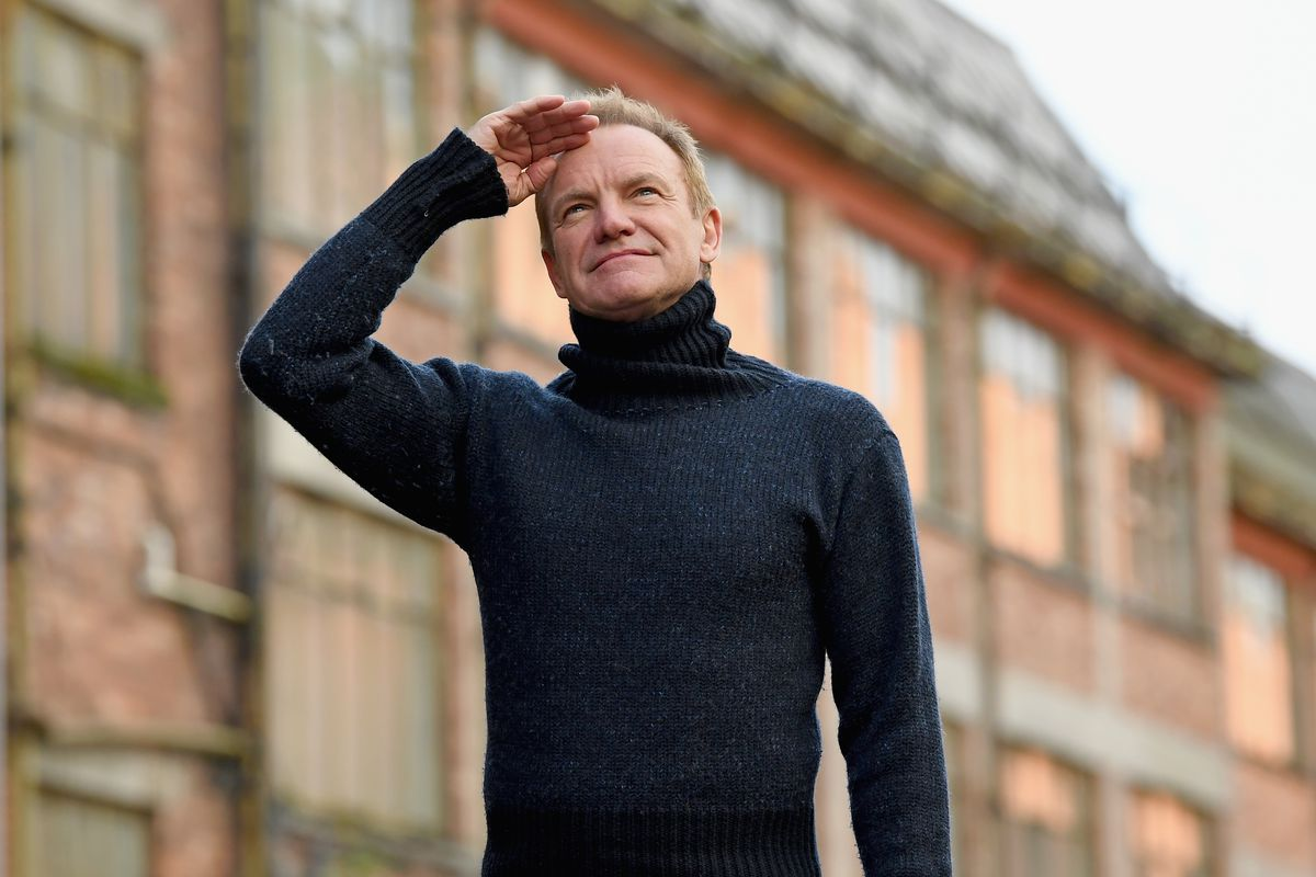 UK Launch For Sting's Musical the Last Ship