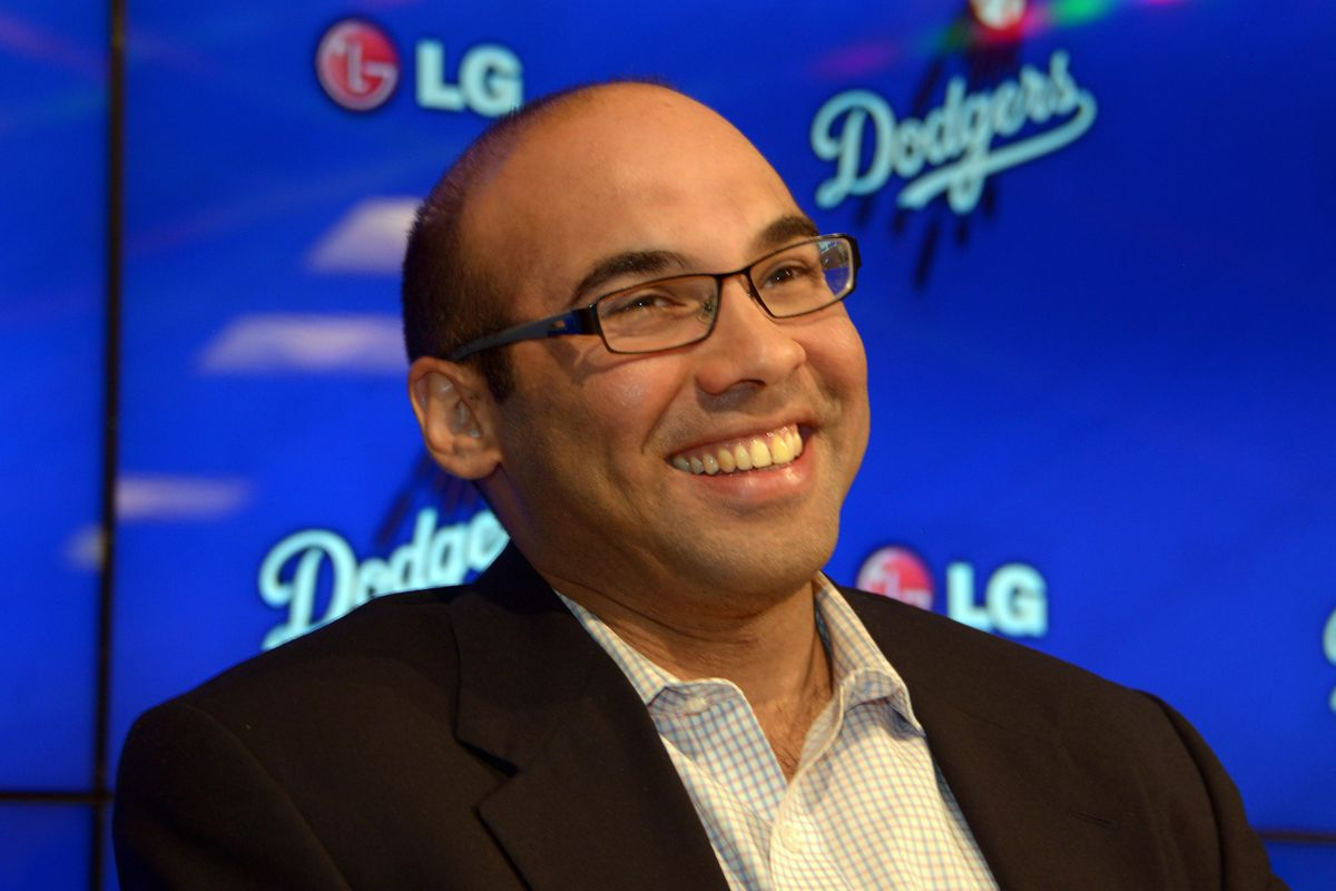 Dodgers GM Farhan Zaidi met with reporters on Wednesday afternoon at Dodger Stadium