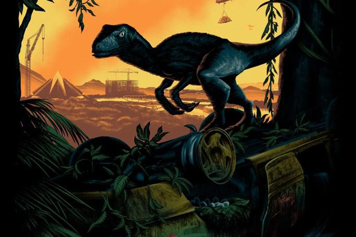 Jurassic World's first poster is here, looks better than any