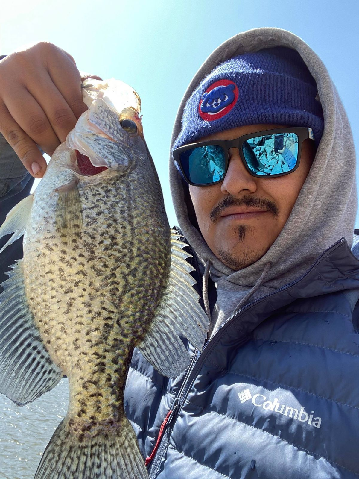 Adrian Medina with a nice crappie from the Chain O'Lakes. Provided photo
