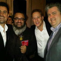 Kevin Boehm, Michael Nahabedian, Rob Katz and Kevin Hickey