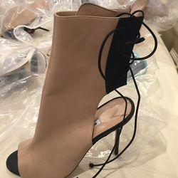 Mid-calf boot, size 37, $300