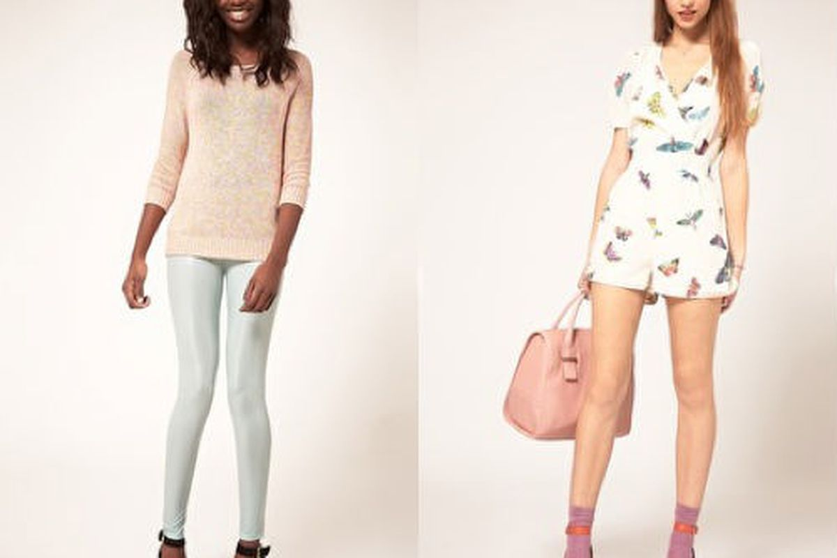 Pretty in pastel at ASOS