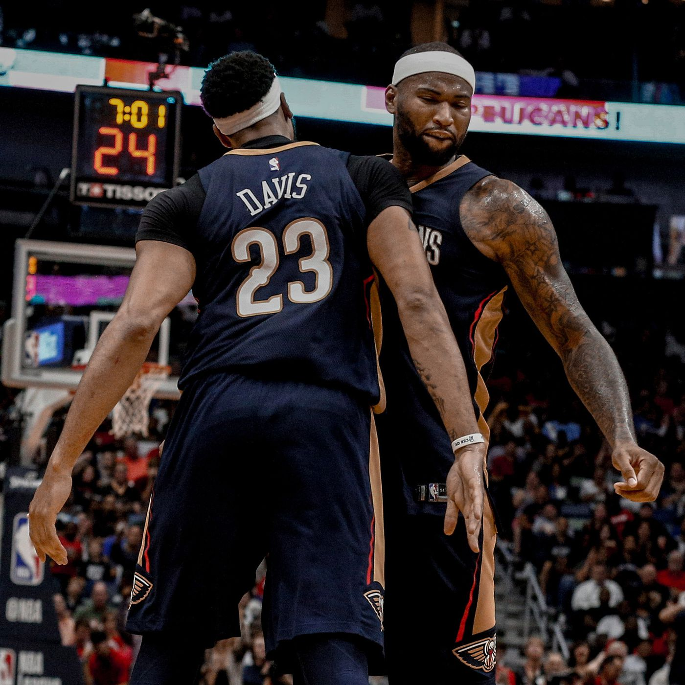 The future for DeMarcus Cousins and Anthony Davis is now and maybe never d65b351e7