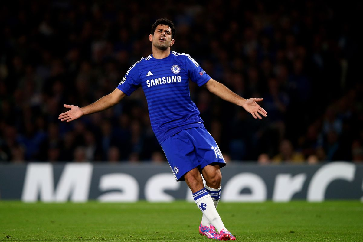 Goal, brace, trick or red card.  Costa gets something for you this week and you all have him right?