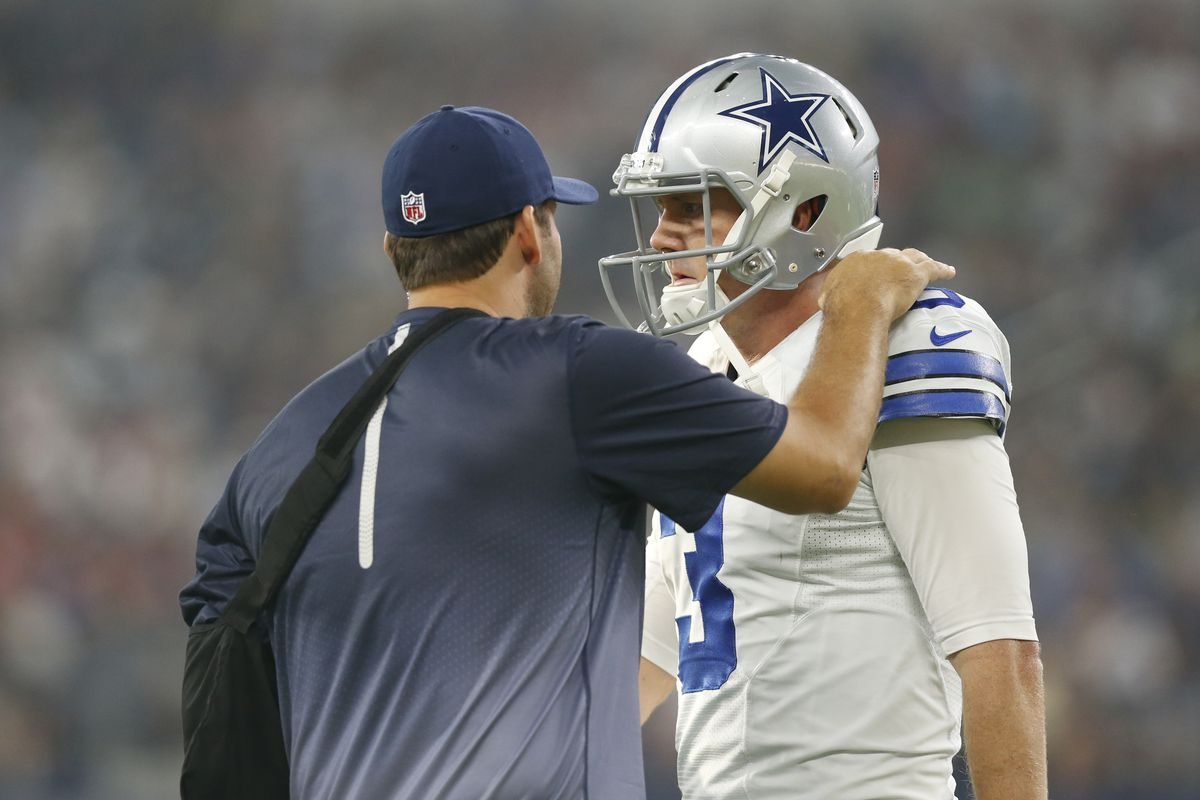 Weeden was told he had lost the starting job this week.