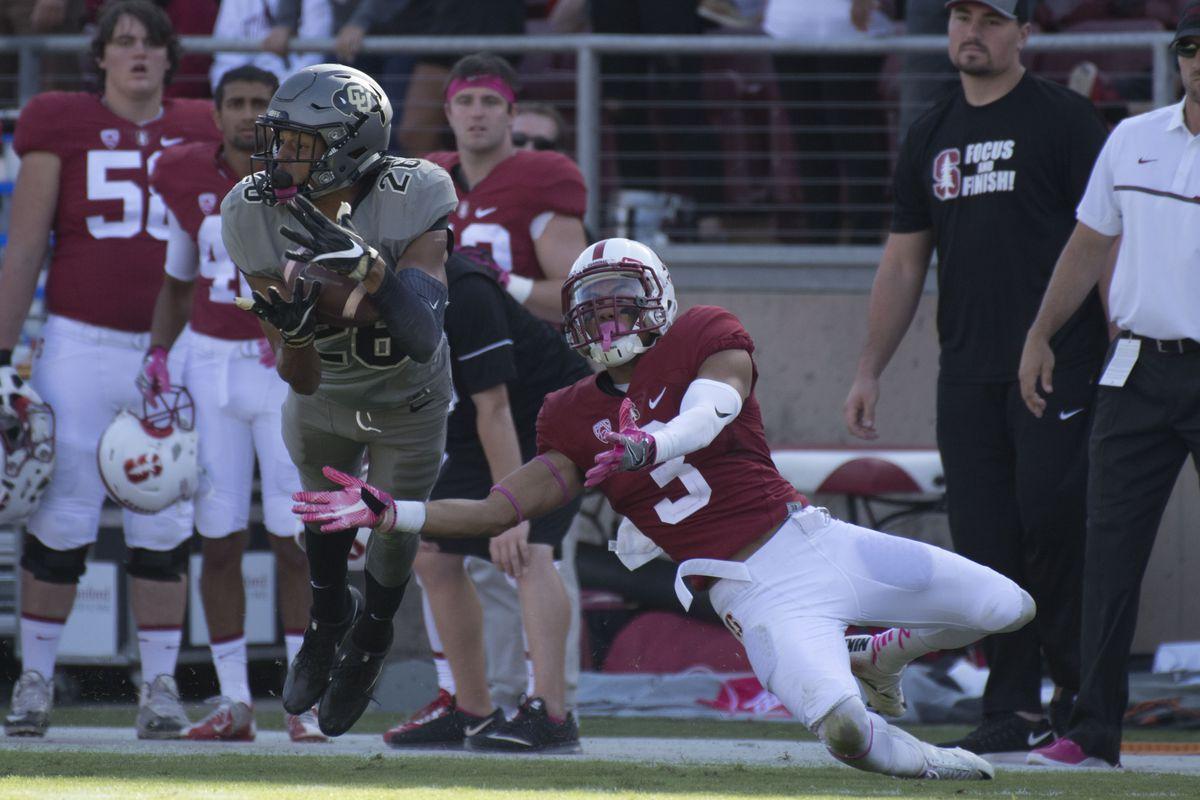 NCAA Football: Colorado at Stanford