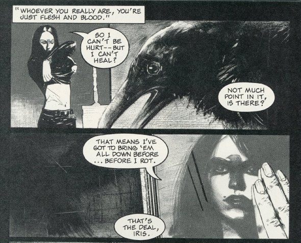 From The Crow: Flesh & Blood, Dark Horse Comics (1997).