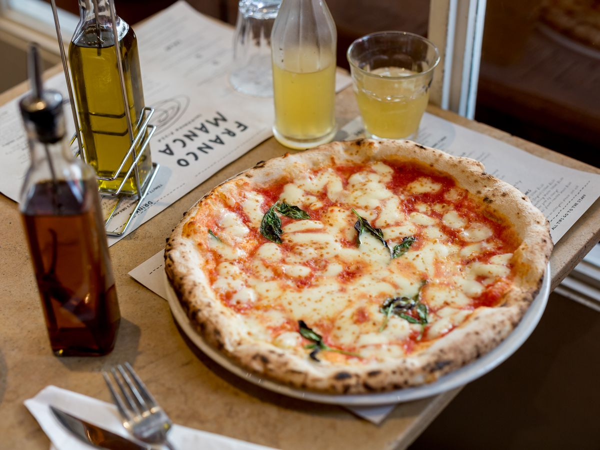 Pizza at Franco Manca, soon to open a new london restaurant