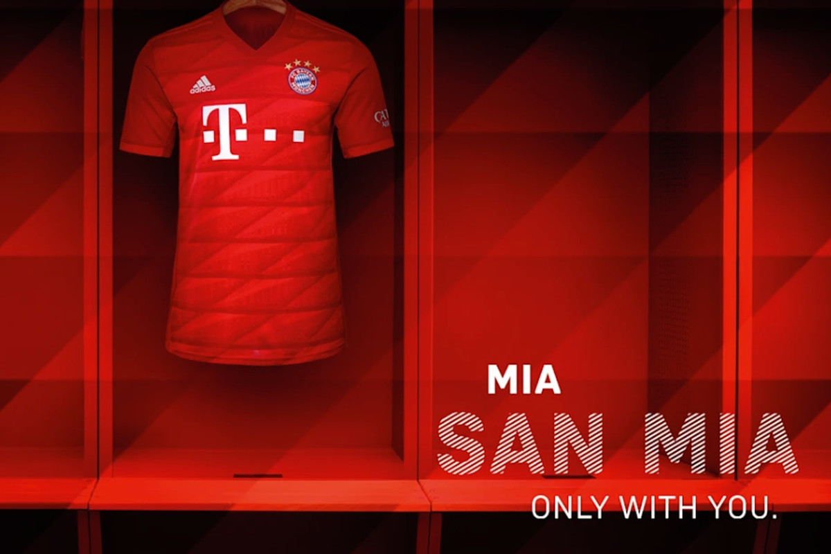 best service 3614f b6c54 Bayern Munich officially unveil new home kit for 2019/2020 ...