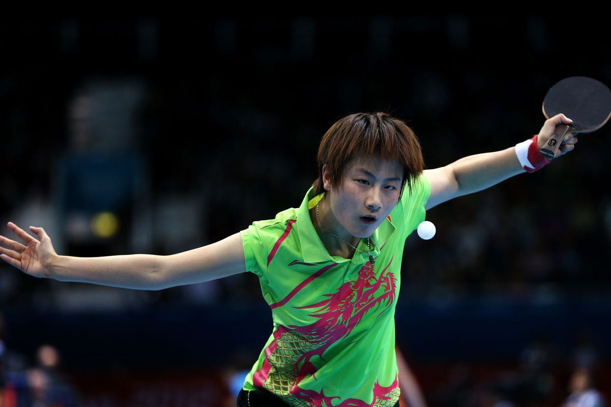 Say it with me: Ning Ding. (Photo by Feng Li/Getty Images)