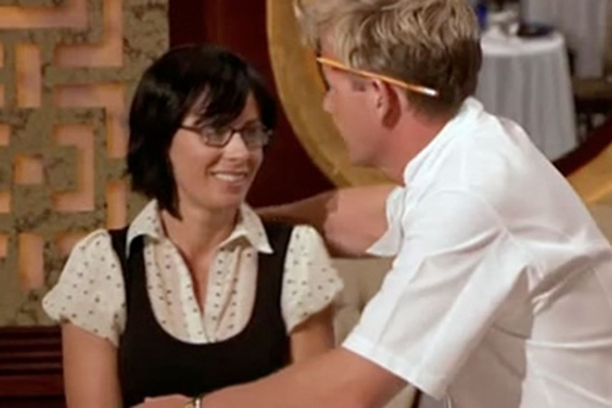 Gordon Ramsay \'Forces\' Himself on a Hell\'s Kitchen Contestant - Eater