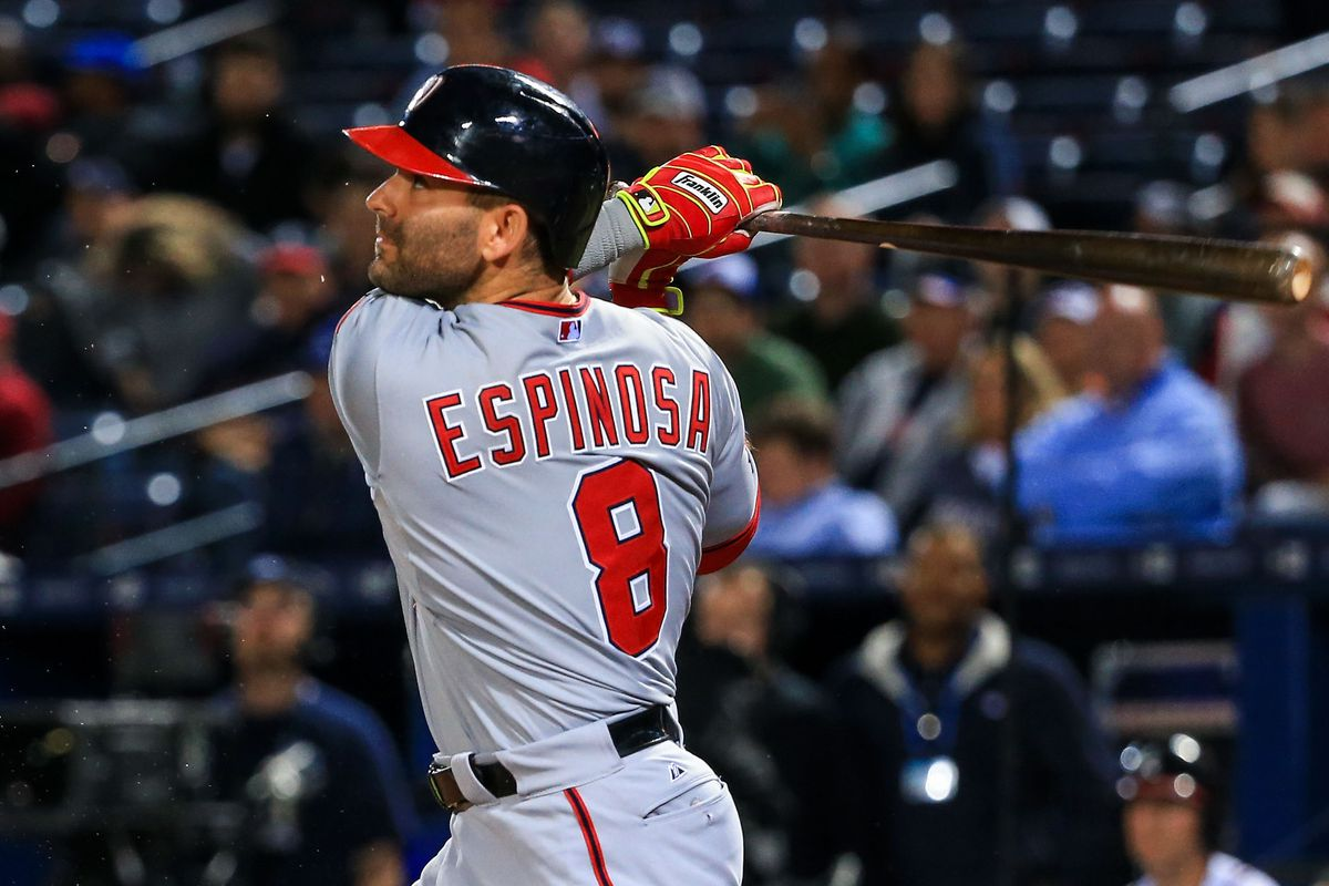 Danny Espinosa is a gritty ballplayer and a changed man at the plate this year.