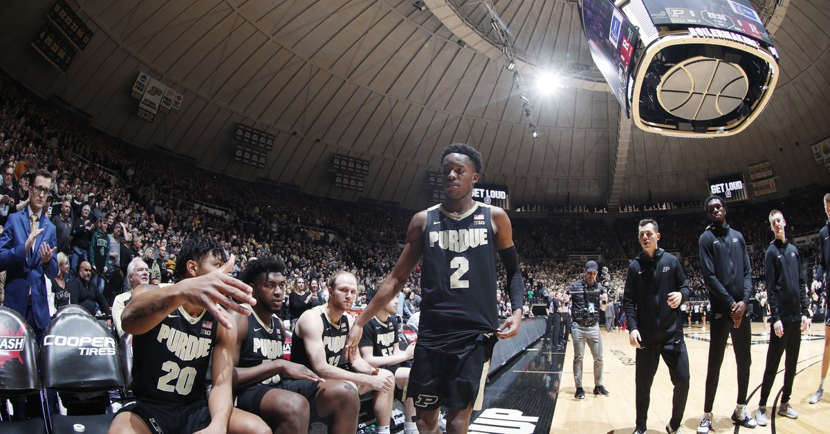 Purdue Basketball Schedule Space Coast Challenge Announced Hammer And Rails