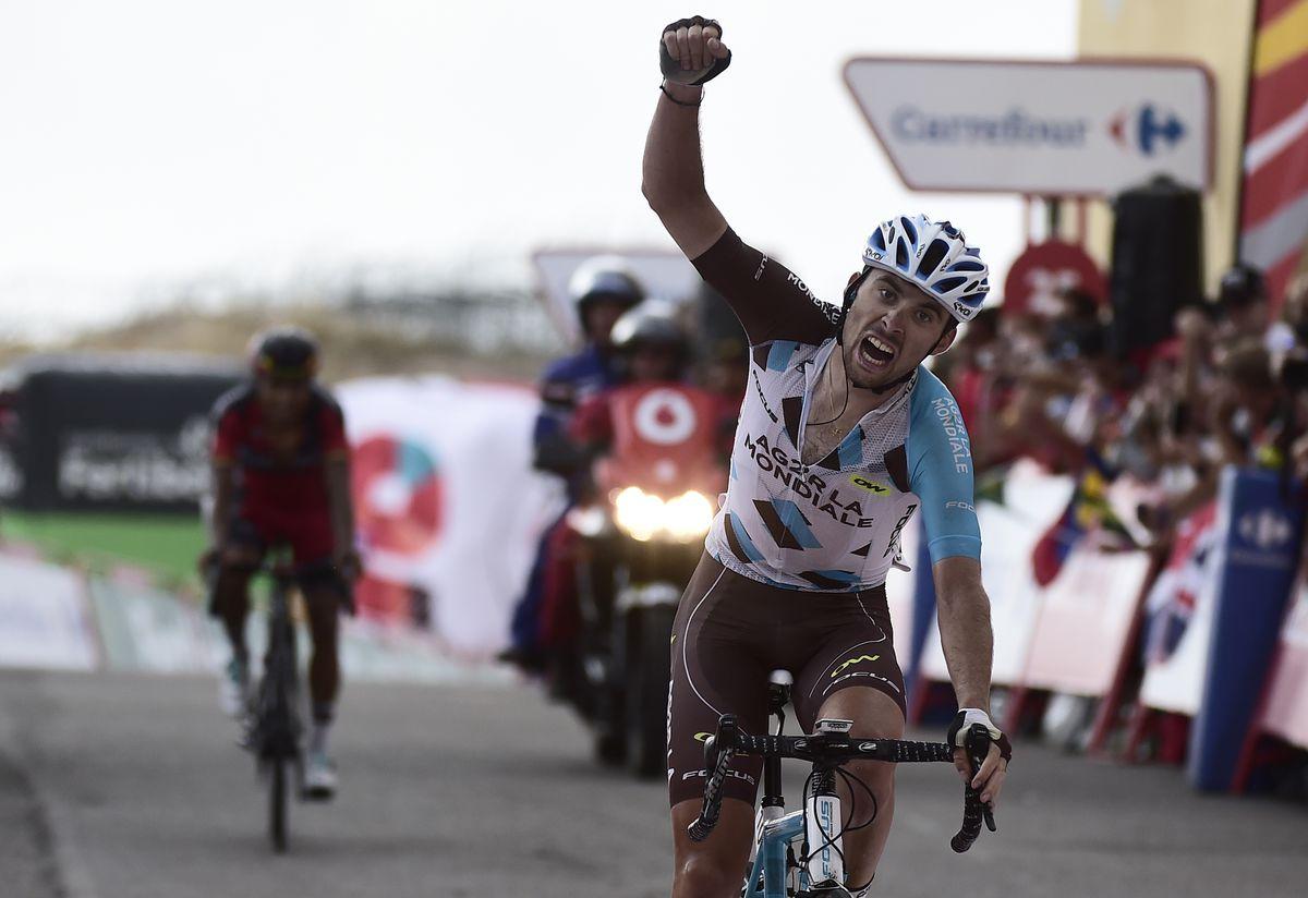 LaTour wins Vuelta Stage