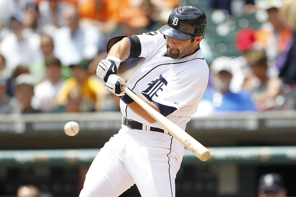 Could we see Alex Avila playing third base soon?