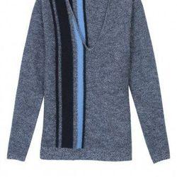 "Tibi deep V-neck pullover, <a href=""http://www.tibi.com/shop/knitwear-sweatshirts/deep-v-neck-pullover"">$345</a>"