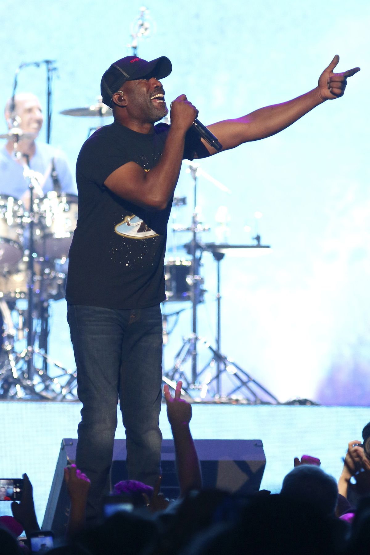 Darius Rucker of Hootie & the Blowfish performs at Madison Square Garden earlier this month.