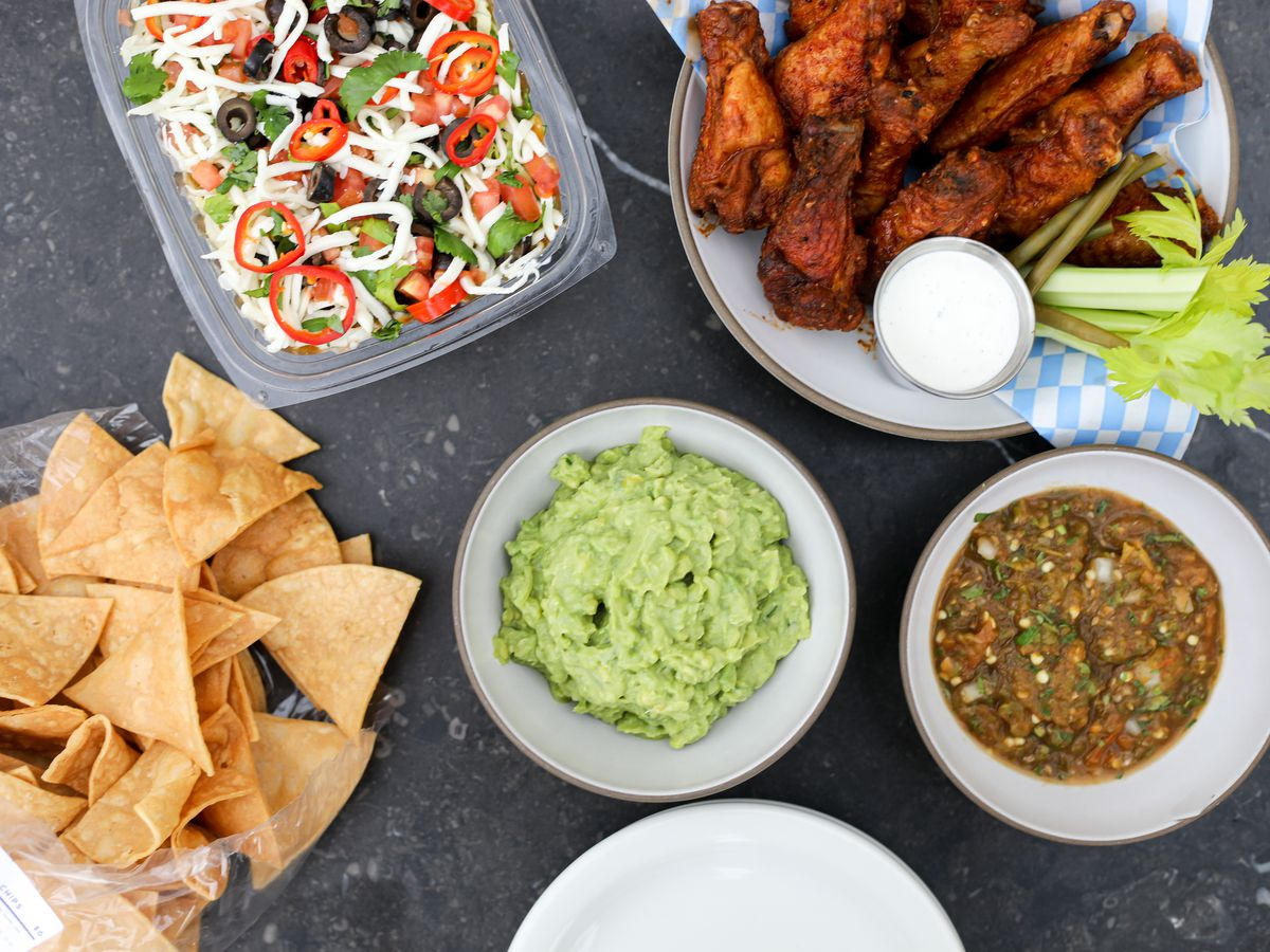 Super Bowl dishes from Swedish Hill