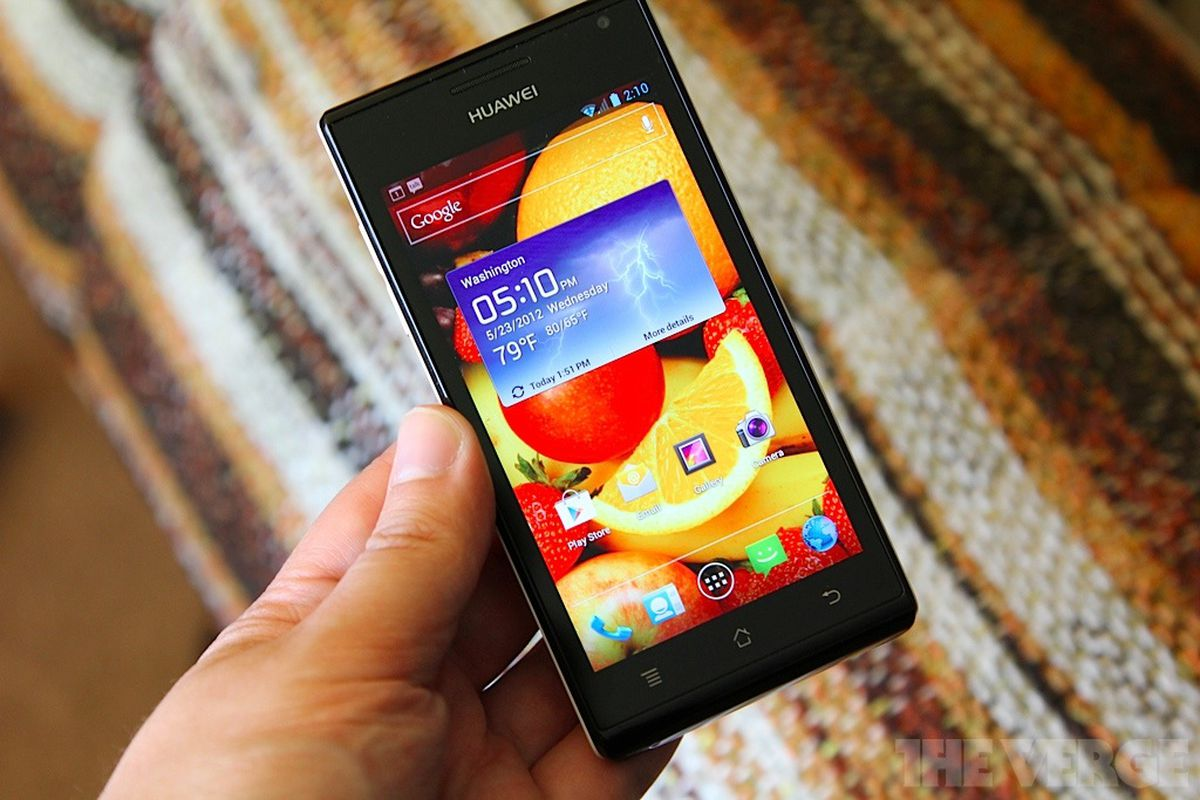 Huawei Ascend P1 stock 1024 lead