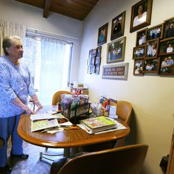 Betty Newbold talks about growing old and her feelings on being alone on Wednesday, Feb. 22, 2017.